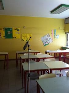 misure all'interno di ambienti scolastici