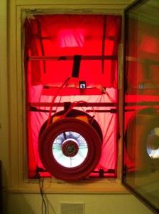 analisi Blowrr Door Test (BDT) su finestra
