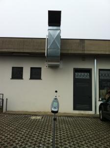 impianto di depurazione aria